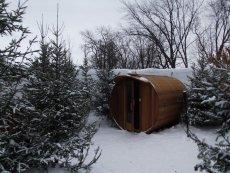 Hôtel de Glace Sauna