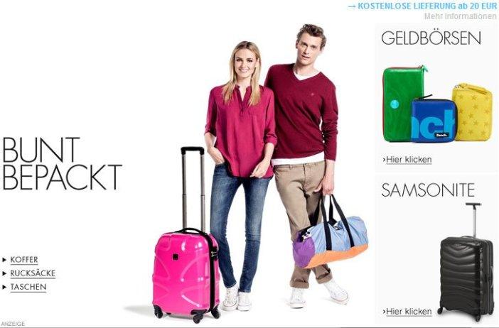 Koffer Rucksäcke und Taschen kaufen
