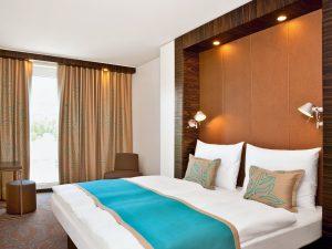Viel Design für wenig Geld, dass bieten die Zimmer der Low-Budget-Gruppe © Motel One
