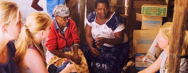 Menschen in Kiwakkuki, Tansania