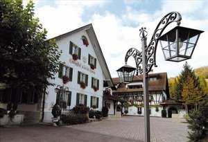 Romantik Hotel Landgasthof in Brunegg