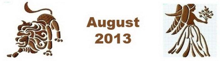 Wellnesshoroskop August 2013