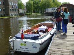 Bootstour in Grachten Amsterdams (2)