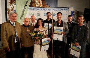 Die Preisträger 2012, Foto  Bergfilm-Festival Tegernsee
