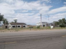 Überall verlassene Häuser entlang der Route 66.