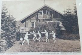 altes Bild Kurhaus Dhonau