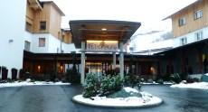 Eingang Hotel Feuerberg