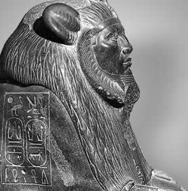 Amenemhet III as a sphinx