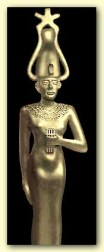 Sah and Sopdet (Sothis), the Egyptian Astral God and Goddess