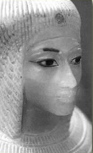 Kiya, a lesser wife of Akhenaten who was probably Tutankhamun's mother