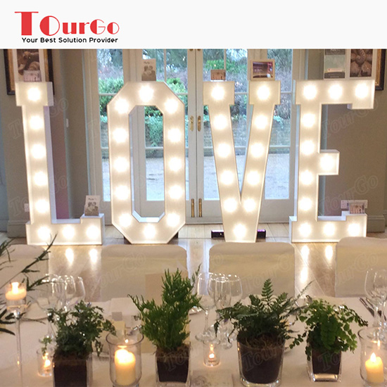 tourgo hot sale led marquee lights up