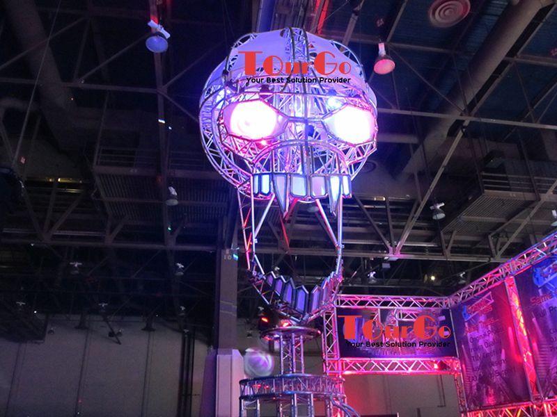 tourgo diy aluminum stage lighting truss for celebrating halloween festivals tourgo event solution co ltd