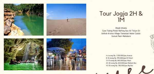 Paket Tour Yogyakarta 2H1M