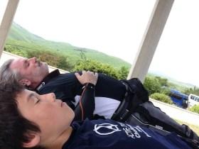 Nap Time at Akiyoshidai