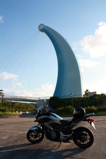 The Aquas Bridge