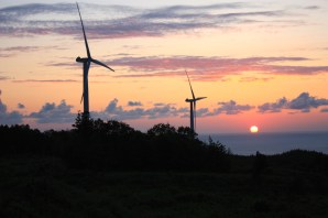 Windmill Sunset 3