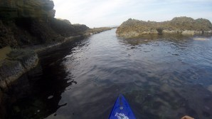 Navigating rocks