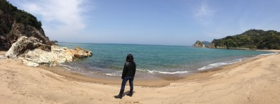 beach at Tamagawa Campground