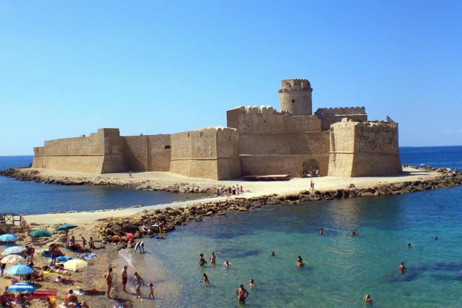 Fortalezas italianas: Le Castella, Calábria