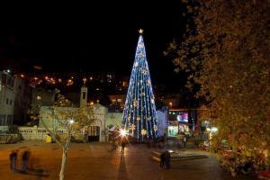 Christmas in Nazareth Photo by Dana Friedlander, courtesy of goisrael.com