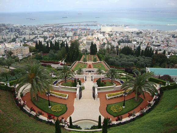 Touring Israel - bahai gardens haifa by deena levenstein 5