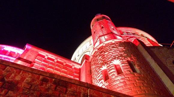 Touring Israel - jerusalem light festival 2015 Dormition Abbey by deena levenstein
