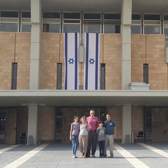 Touring Israel - Stepping into Parliament of Israel