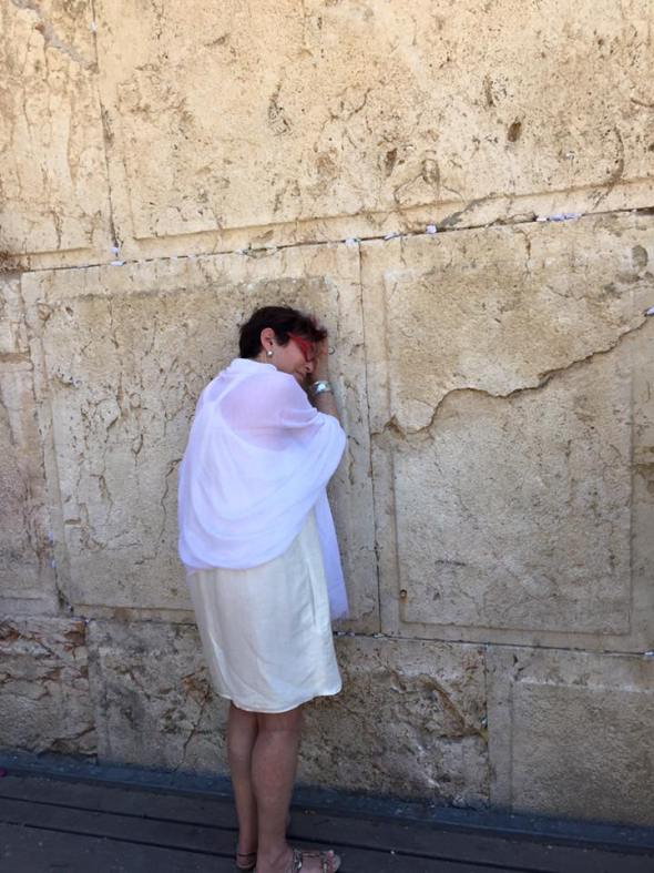 Touring Israel - Connecting at the Western Wall, Jerusalem