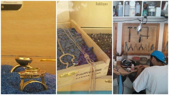 adi greenstein jewelry studio jerusalem collage by deena levenstein