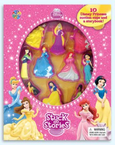 Disney Princesses getting stuck! Photo from the Phidal Website.