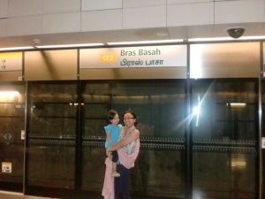 I will miss our bus stop, Bras Basah!