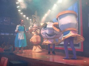 The much-awaited main show, Beauty and the Beast!