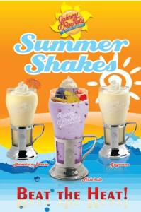 Cool down with these yummy and refreshing shakes.