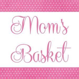 Mom's Basket logo (taken from her Facebook Page).