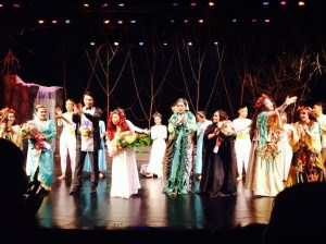 Rusalka Opening Night Curtain Call. Great job, everyone!