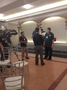 And we're in the news! TV5's Pambansang Good Boy Mon Gualvez covers the said event.