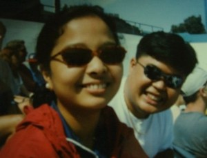 Jay and Aui Tamayo. Circa 1997, which was their first tour together.