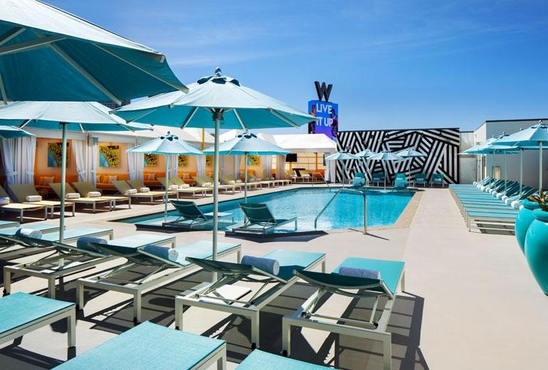 W Las Vegas Pool