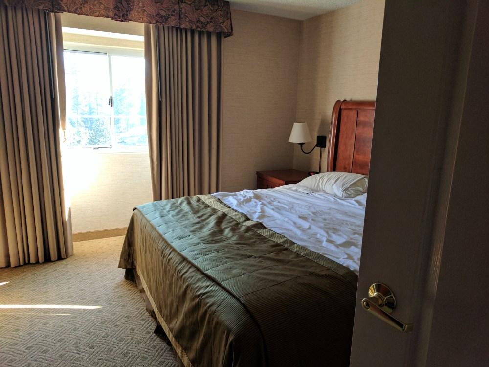 Lake Tahoe Resort Hotel bedroom