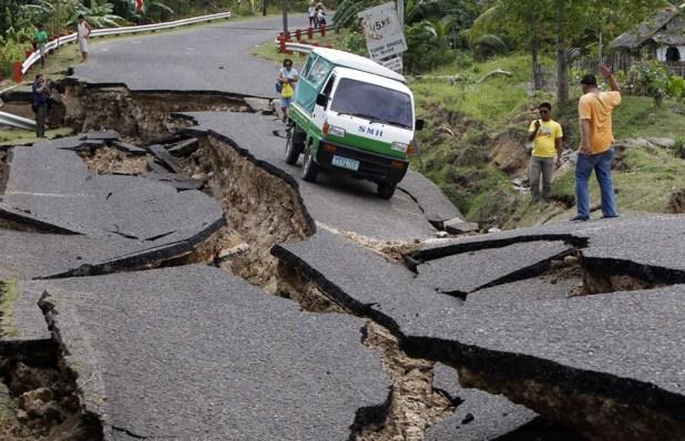 خطر الزلازل