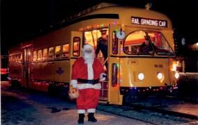 Santa and Streetcar