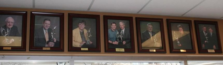 Ambassador Award Wall of Fame