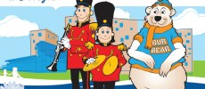 postcard cartoon characters Burlington