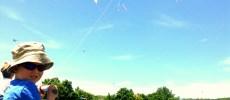 City of Burlington Festivals & Events Boy Flying Kite