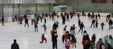 skating in burlington - arena