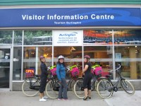 Urkai bikes - stop at visitor centre