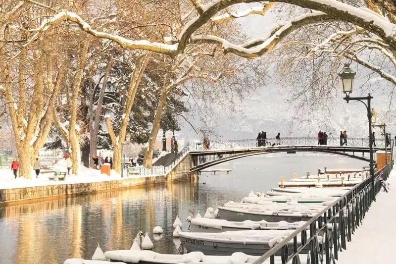 Annecy, l'hiver