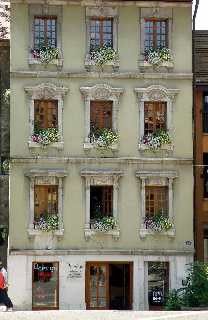 maison gallo, place sainte claire Annecy