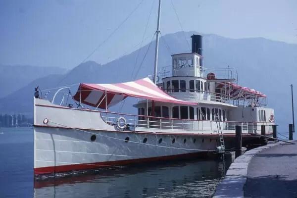 bateau Le France au lac d'Annecy