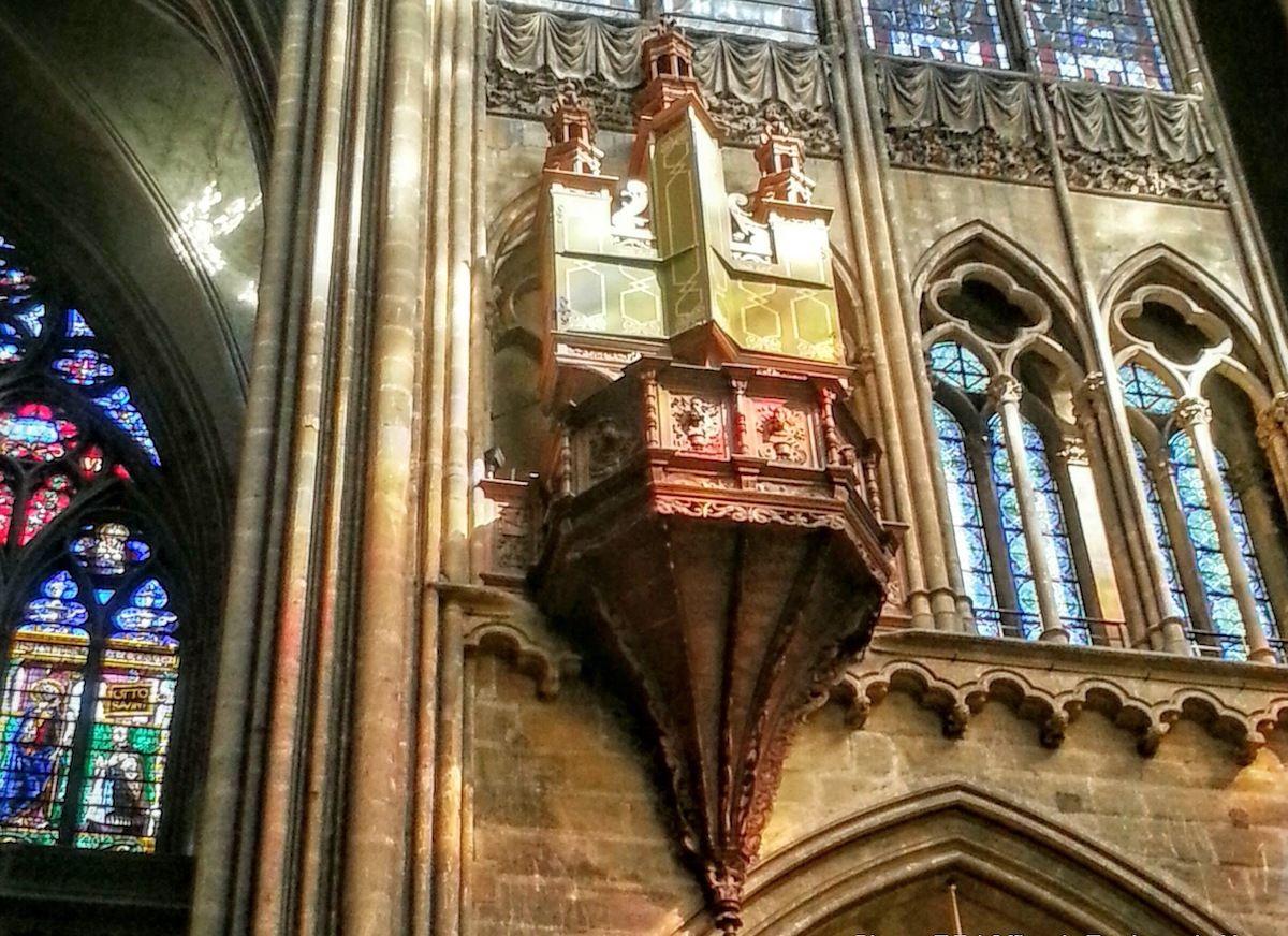 Orgue De La Cathedrale Saint Etienne Lorraine Tourisme
